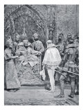 Akbar the Great Receives Queen Elizabeth's Ambassador in 1599 Giclee Print by Richard Caton Woodville
