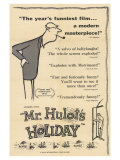 Mr. Hulot's Holiday, 1953 Premium Giclee Print