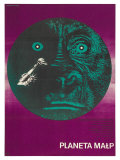 Planet of the Apes, Polish Movie Poster, 1968 Print