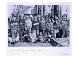 The Crew of the 'Terra Nova', from 'Scott's Last Expedition' Giclee Print by Herbert Ponting
