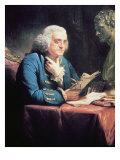 Benjamin Franklin, 1766 Giclee Print by David Martin