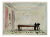 Billiard Players at Petworth House, 1830 Giclee Print by Joseph Mallord William Turner