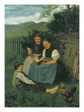 The End of the Day, 1868 Giclee Print by Hans Thoma