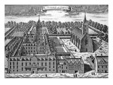 The College of Glasgow, from 'Theatrum Scotiae', 1693 Giclee Print by John Slezer
