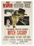 Butch Cassidy and the Sundance Kid, Italian Movie Poster, 1969 Posters