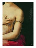 La Fornarina, c.1516 Reproduction procédé giclée par  Raphael