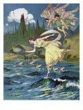 Atalanta and the Sons of the North Wind, c.1900 Giclee Print by Lancelot Speed