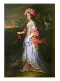 A Lady in Masquerade Costume, c.1679 Reproduction procédé giclée par John Michael Wright