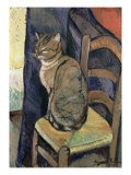 Study of a Cat, 1918 Giclee Print by Marie Clementine Valadon
