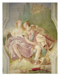 Rinaldo Enchanted by Armida, from 'Gerusalemme Liberata' by Torquato Tasso Giclee Print by Giovanni Battista Tiepolo