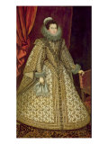 Isabel of Bourbon Gicl&#233;e-Druck von Rodrigo de Villandrando