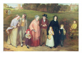 Sunday Morning - The Walk from Church, 1846 Giclee Print by Richard Redgrave