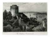 The Bosphorus, Constantinople, engraved by J. Godfrey Giclee Print by John Douglas Woodward