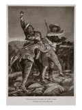 The Gallant Bugler of Fort Itala Giclee Print by Richard Caton Woodville