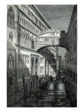 Bridge of Sighs, Venice Giclee Print by Emile Theodore Therond