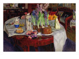 Easter Table, 1915 Giclee Print by Stanislav Julianovic Zukovskij