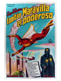 Adventures of Captain Marvel, Argentine Movie Poster, 1941 Premium Giclee Print