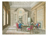 Board Room of The Admiralty, 1808 Giclee Print by T. Rowlandson