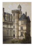 Hotel of Anjou, Angers, Illustration from 'Les Chateaux De La Vallee De La Loire', Paris Giclee Print by Victor Jean-baptiste Petit