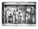Delpech's Lithographic Print Shop, C.1818 Giclee Print by Antoine Charles Horace Vernet