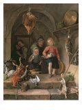 The Game Larder Giclee Print by Jan Havicksz Steen