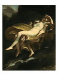 Psyche Transported to Heaven Giclee Print by Pierre-Paul Prud'hon