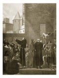 The Albigensians of Carcassonne Giclee Print by Jean Paul Laurens