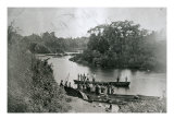 The River Volta on the Gold Coast of Ghana, Giclee Print