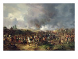 The Battle of the Nations of Leipzig, 1813 Giclee Print by Alexander Ivanovich Sauerweid