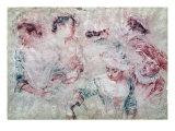 Six Studies Giclee Print by Jean Antoine Watteau