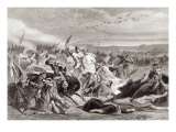 The Battle of Kalka Giclee Print by Adolphe Yvon