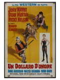 Rio Bravo, Italian Movie Poster, 1959 Prints