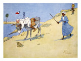 A Stopping-Place on the Nile, from 'The Light Side of Egypt', 1908 Giclee Print by Lance Thackeray