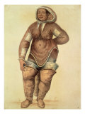 Eskimo Woman, 1570 Giclee Print by John White