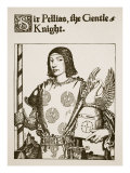 Sir Pellias, the Gentle Knight, Illustration from 'The Story of King Arthur and His Knights', 1903 Giclee Print by Howard Pyle