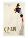 Poster Advertising a Production of 'Othello', 1956 Giclee Print