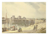 Newport on the Usk Giclee Print by Michael Rooker