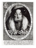 Portrait of Henry VIII, engraved by Peter Isselburg, 1646 Giclee Print by Cornelis Massys