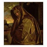 St. Mary Magdalene Giclée-tryk af Giovanni Girolamo Savoldo