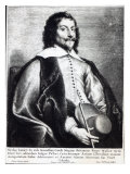 Nicholas Lanier, Engraved by Lucas Vostermans Giclee Print by Jan The Elder Lievens