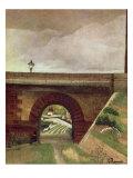 Sevres Bridge Giclee Print by Henri Rousseau