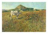 Pasture in Pietramala Reproduction procédé giclée par Telemaco Signorini