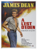 East of Eden, French Movie Poster, 1955 Premium Giclee Print