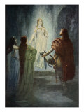 He saw a beautiful woman, from 'The Stories of Wagner's Operas' by J. Walker McSpadden Giclee Print by Ferdinand Leeke