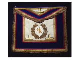 Masonic Regalia, from the Order of Turin Giclee Print