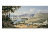 Rouen from St. Catherine's Hill Giclee Print by William Turner