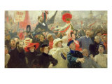 October 17th, 1905 Giclee Print by Ilya Efimovich Repin