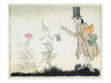 The Professor, Illustration to &#39;Ada&#39;s Little Flowers&#39; from Fairy Tales by Hans Christian Andersen Giclee Print by Arthur Rackham