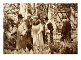 King George and Queen Mary at the Chelsea Flower Show, 1930S Giclee Print by John Hill