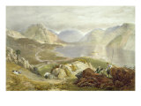 Wast Water, from 'The English Lake District', 1853 Giclee Print by James Baker Pyne